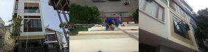 Dịch vụ lau kính tòa nhà tại Hạ Long