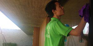 Dịch vụ làm sạch tại Quảng Ninh tận tụy