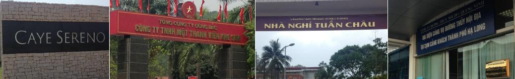 Vệ sinh công nghiệp tại Quảng Ninh khách hàng tiêu biểu