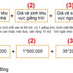 Cách tính giá dịch vụ tổng vệ sinh