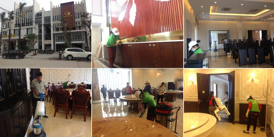 Vệ sinh nhà hàng Quảng Bình 2