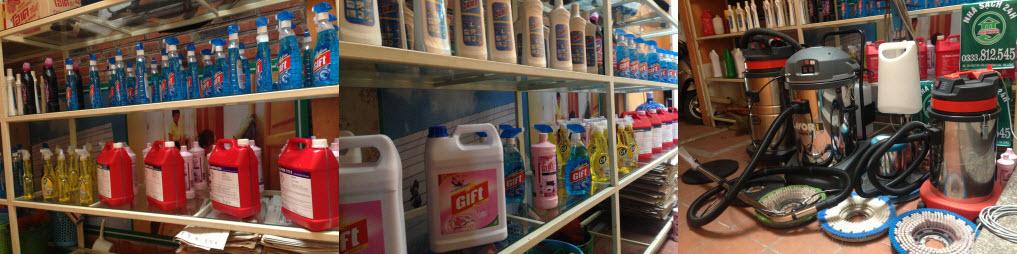 Dịch vụ vệ sinh nhà cửa tết