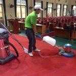Dịch vụ giặt thảm tại Hạ Long