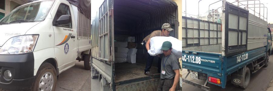Số điện thoại taxi tải Hạ Long