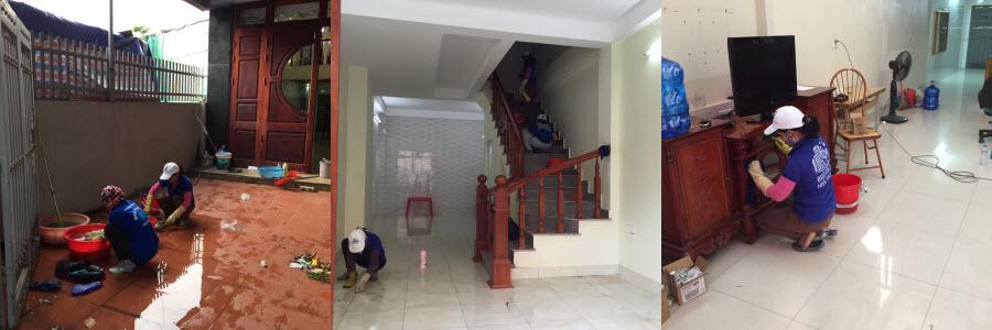 Dịch vụ vệ sinh nhà định kỳ