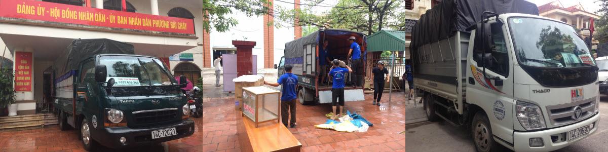 Cho thuê xe tải 1 tấn tại Hạ Long