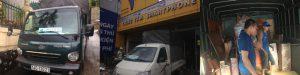 Xe tải chở hàng tại Quảng Ninh