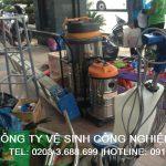 Vệ sinh công nghiệp tại Hạ Long Quảng Ninh
