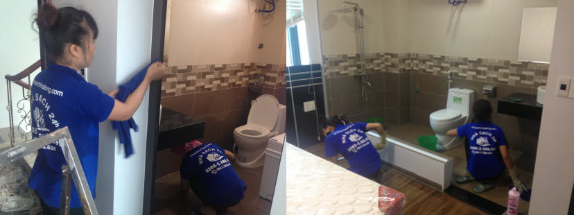 Dịch vụ làm sạch tại Hạ Long