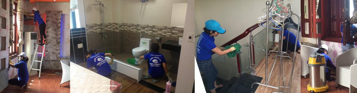Dịch vụ nhà sạch tại Quảng Ninh