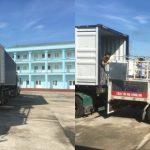Xe chuyển hàng Quảng Ninh